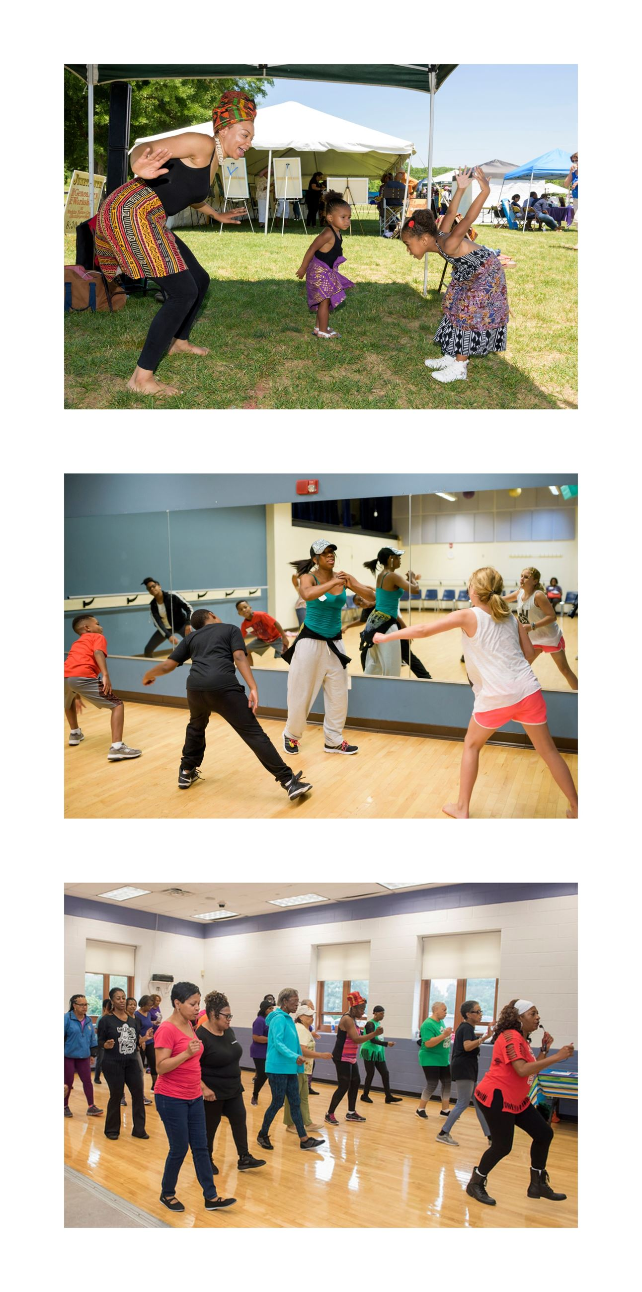 arts on a roll dance collage