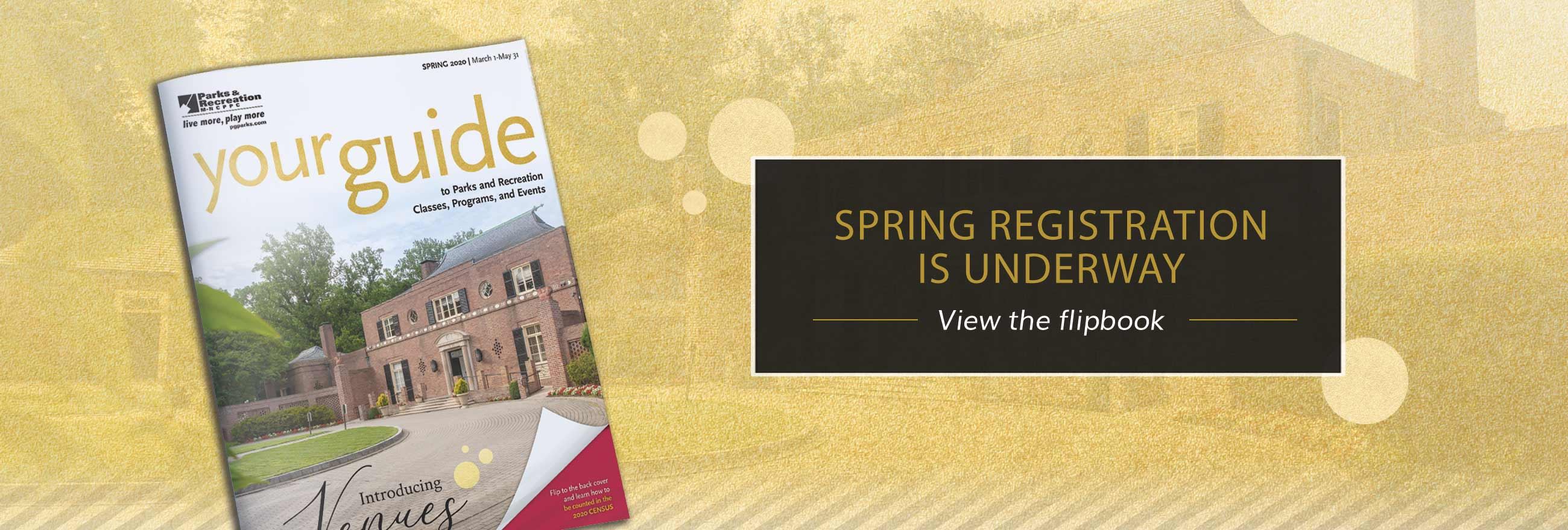 the spring guide is here