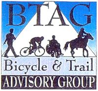 The Bicycle & Trails Advisory Group (BTAG) Logo